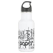 Back to School 1 Stainless Steel Water Bottle