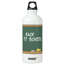 Back To School 2 Aluminum Water Bottle