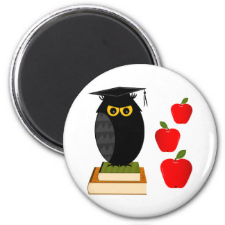 Back to School 2 Inch Round Magnet