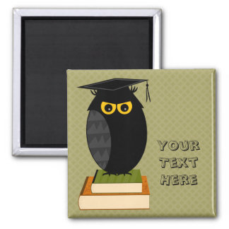 Back to School 2 Inch Square Magnet