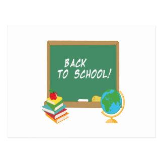 Back To School 5 Postcard