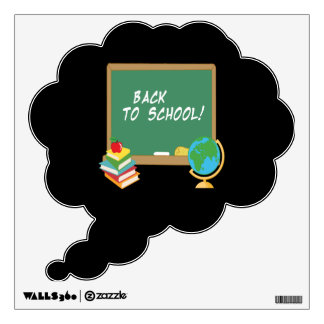 Back To School 5 Wall Decal