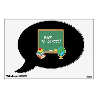 Back To School 5 Wall Sticker