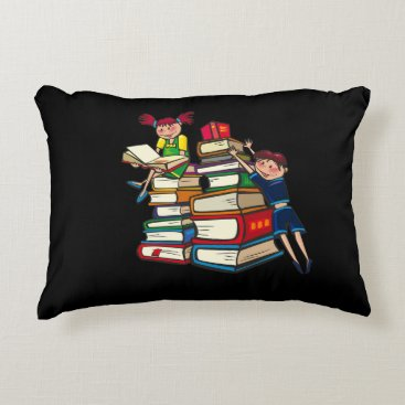 Beach Themed Back to school accent pillow