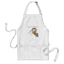 Back to School Adult Apron