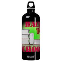 back to school aluminum water bottle