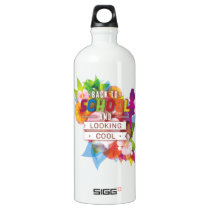 Back to school and looking cool water bottle