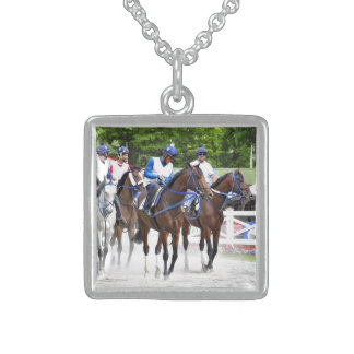 Back to School at Saratoga Sterling Silver Necklace
