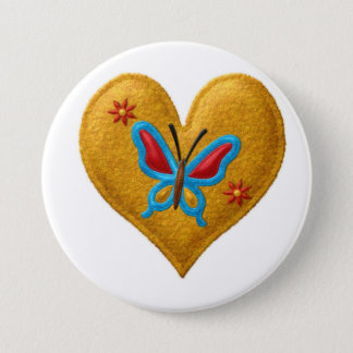 Back to School, Backpack Pins buttons Butterfly