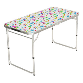 Back To School Beer Pong Table
