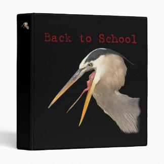 Back to School Vinyl Binders