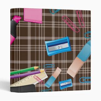 Back to School Vinyl Binder