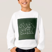 Back To School Blackboard Sweatshirt