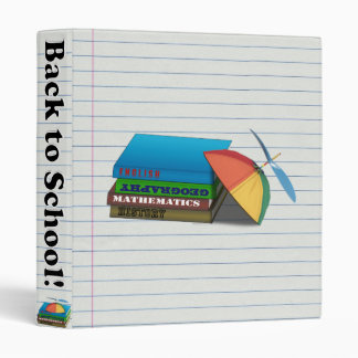 Back to School Book Stack Binder