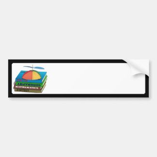 Back to School Book Stack Bumper Stickers