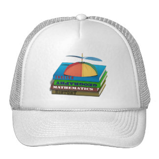 Back to School Book Stack Trucker Hat