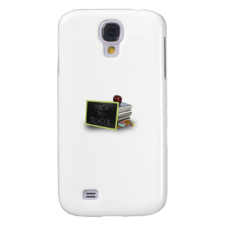 Back to school books galaxy s4 cover