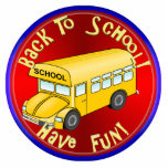 Back To School Bus Fun Photo Sculptures