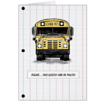 Back to School - Bus - Humor - Any Age Card