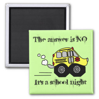 Back to School Bus Magnet