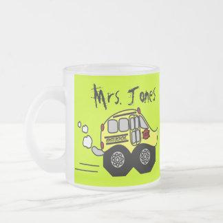 Back to School Bus Mugs