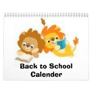 Back to School Calender Calendars