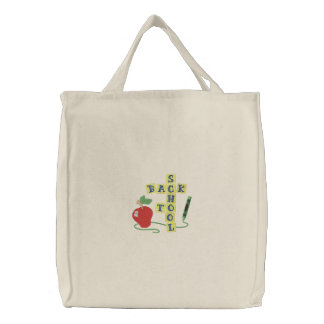 Back To School Canvas Bag