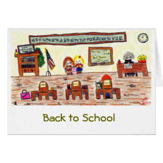 """Back to School"" Card"