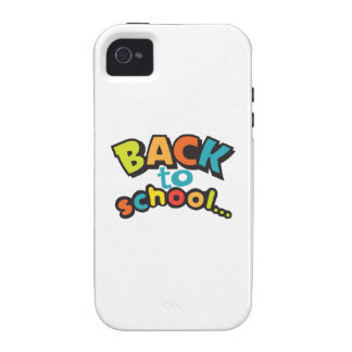BACK TO SCHOOL VIBE iPhone 4 COVERS