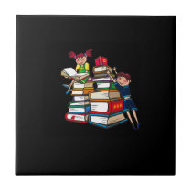 Back to school ceramic tile