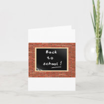 Back To School Chalkboard Note Cards