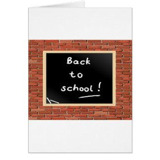 Back To School Chalkboard Note Cards