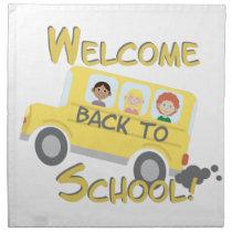 Back To School Cloth Napkin