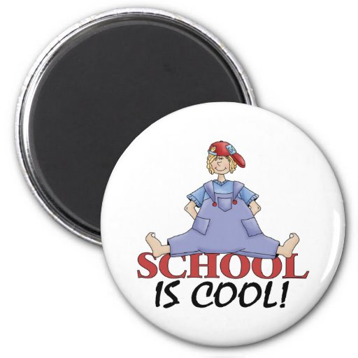 Back To School Clothes 2 Inch Round Magnet