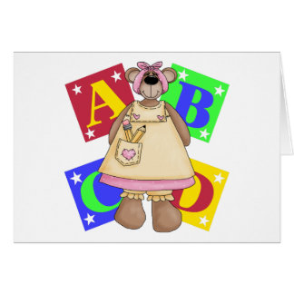 Back To School Clothes Card