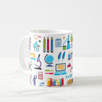 Back to school coffee mug