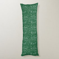 Back to School Collage Body Pillow