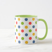 """Back To School"" Colorful Dots Mug"