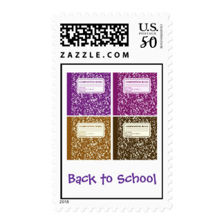 Back to School/Composition Notebook Postage