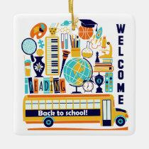 Back to School custom ornament