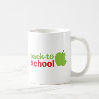 Back-To-School cute teacher design with an apple Coffee Mug