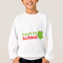Back-To-School cute teacher design with an apple Sweatshirt