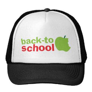 Back-To-School cute teacher design with an apple Trucker Hat