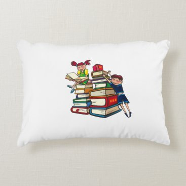 Beach Themed Back to school decorative pillow