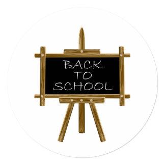 Back to school easel board card