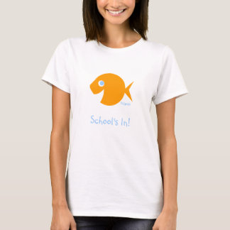 Back To School Elementary Teacher Blue-eyed Fish T-Shirt