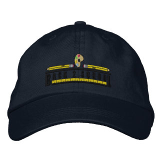 Back To School Embroidered Baseball Hat