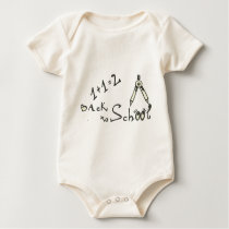 Back to School Equations Baby Bodysuit