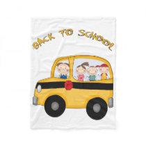 Back To School Fleece Blanket