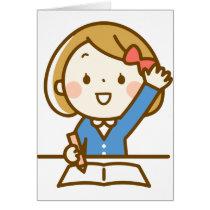 Back to School Girl Good Student Classroom